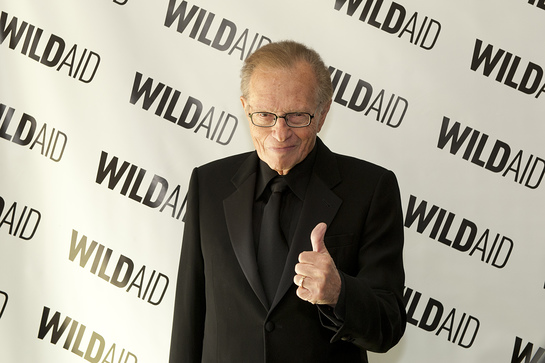 WildAid Gala Larry King