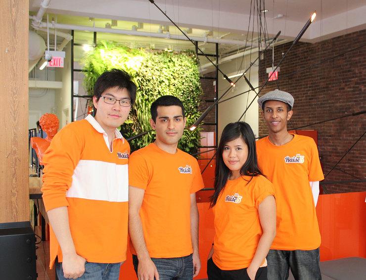 The team of young social entrepreneurs behind Raise5