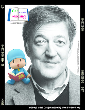 Stephen Fry Get Caught Reading