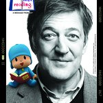 Stephen Fry Gets Caught Reading