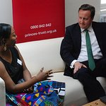 British Prime Minister Visits Prince's Trust