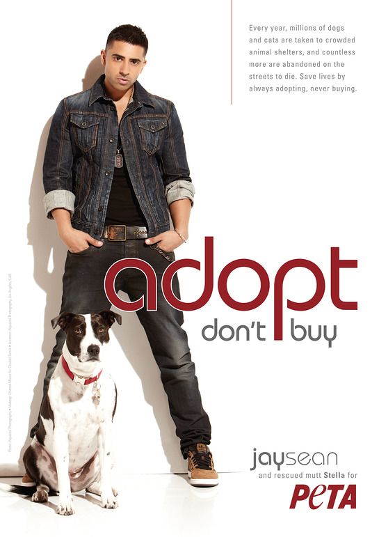 Jay Sean for PETA
