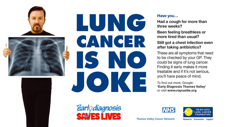 Ricky Gervais Lung Cancer Ad