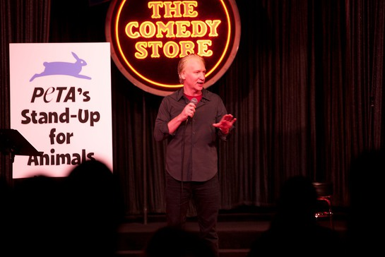 Bill Maher Performs At PETA's Stand Up For Animals
