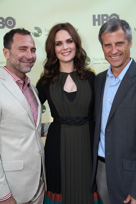 James Costos, Emily Deschanel, Gene Baur