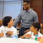 Usher's New Look Foundation Takes Over Atlanta