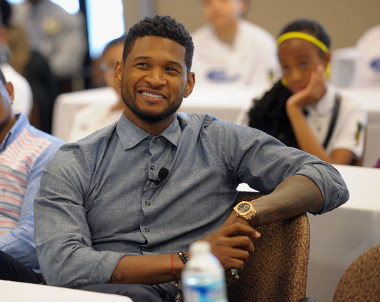 Usher and the New Look participants visited GE