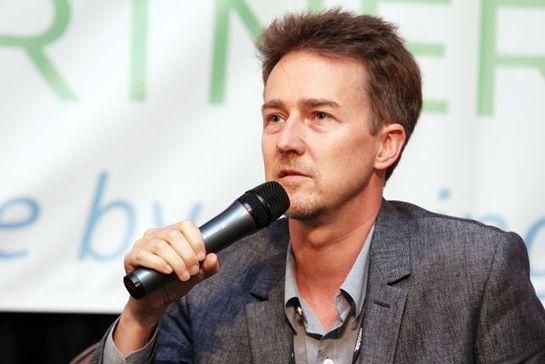 Edward Norton, Actor, environmental activist and UN Goodwill Ambassador for Biodiversity