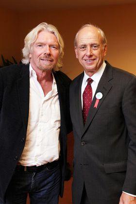 Richard Branson, Founder, the Virgin Group, and Jeff Horowitz, Founder, Avoided Deforestation Partners
