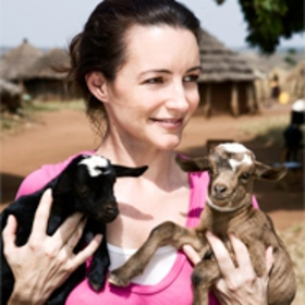 Kristin Davis travels with Oxfam