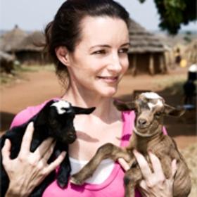 Kristin Davis travels with Oxfam