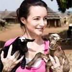 Kristen Davis and Djimon Hounsou Fundraise for Food Crisis Victims