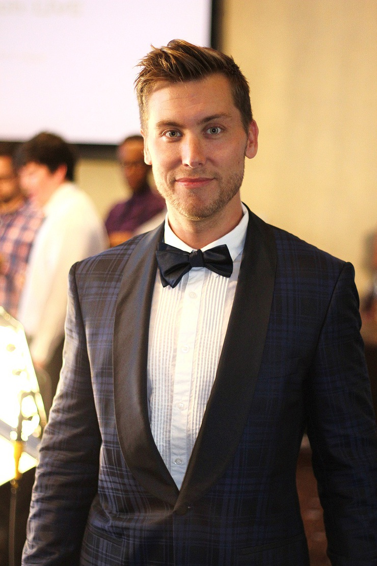 Lance Bass at the 2012 Thirst Project Gala
