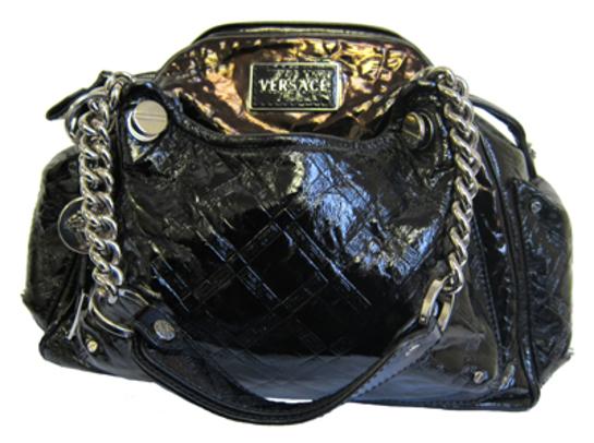 Jeanie Buss Versace Handbag