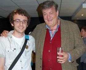 Stephen Fry meets Ted