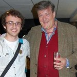 Stephen Fry Meets Sick Teen For Make-A-Wish Foundation