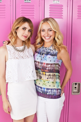 Emma Roberts and Hayden Panettiere kick-off Neutrogena Wave for Change