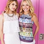 Hayden Panettiere And Emma Roberts Wave For Change