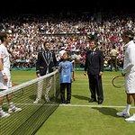 Make-A-Wish Boy Flips Coin At Wimbledon Final