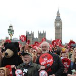 Bill Oddie Marches In London For Bears