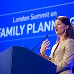 Annie And Tali Lennox Attend Family Planning Summit