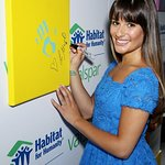 Glee's Lea Michele Unveils Star-Studded Valsper Hands For Habitat