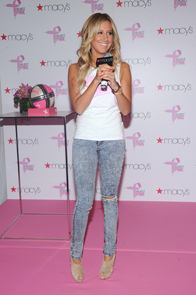Ashley Tisdale kicks off PUMA's Project Pink Initiative