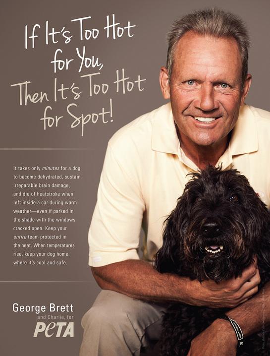George Brett and PETA