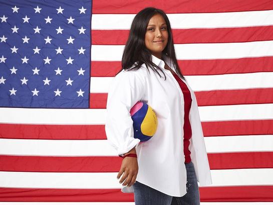 Olympian Brenda Villa