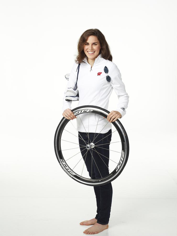 Olympian Gwen Jorgensen