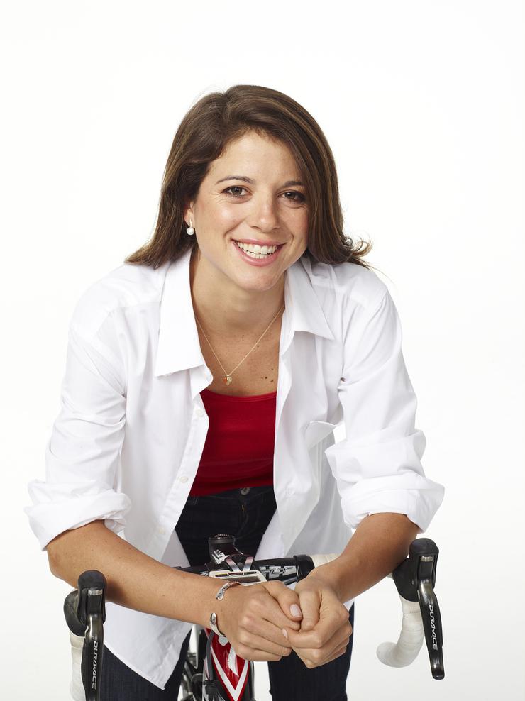 Olympian Evelyn Stevens