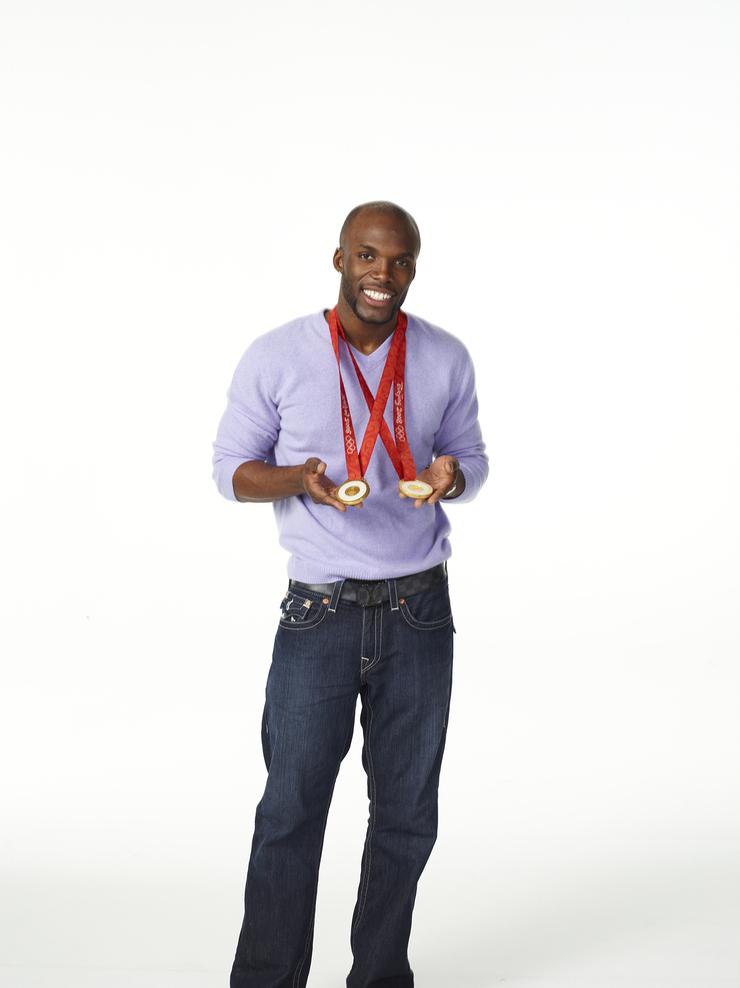 Olympian Lashawn Merritt