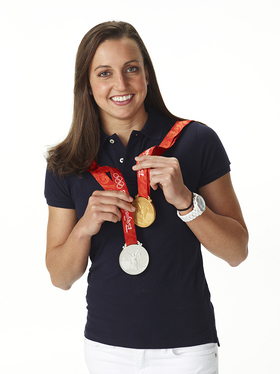 Olympian Rebecca Soni