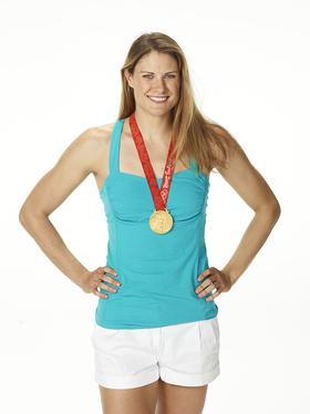 Olympian Susan Francia