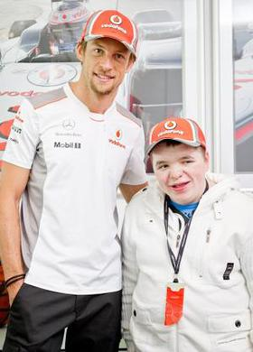 Jenson Button and Matthew
