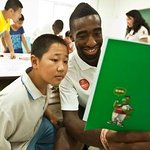 Arsenal Players Save The Children In China