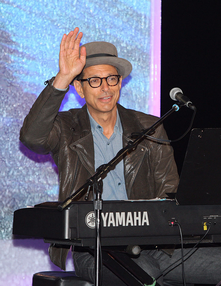 Jeff Goldblum as Musical Guest at Oceana's SeaChange Party
