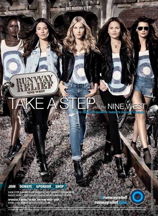 Nine West Runway Relief campaign