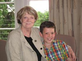 Maggie Smith and Evan