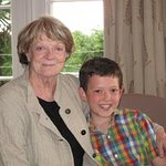 Dame Maggie Smith Grants Wish To Sick Boy