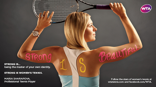 Maria Sharapova Strong Is Beautiful