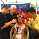 Yao Ming Helps Hearing Impaired Children In China