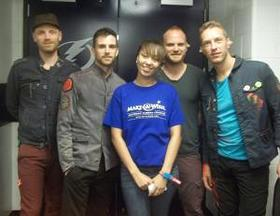 Amber With Coldplay