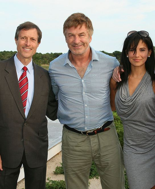 PCRM president Neal Barnard, M.D. with Alec and Hilaria Baldwin
