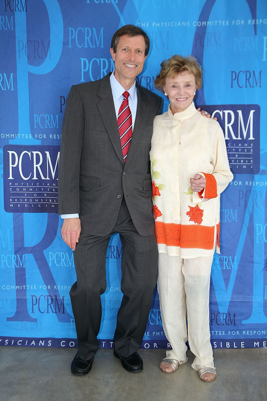 Neal Barnard and Peggy McCay