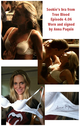 Anna Paquin's True Blood Bra