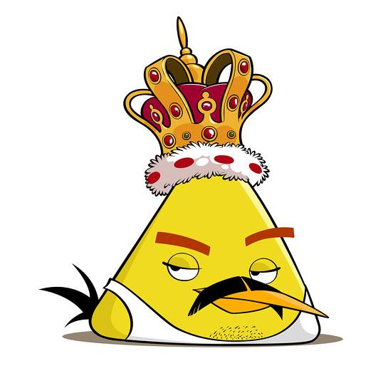 Freddie Mercury as an Angry Bird
