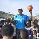 Basketball Greats Visit Kenya With UNICEF