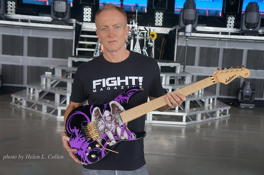 Phil Collen with Guitar