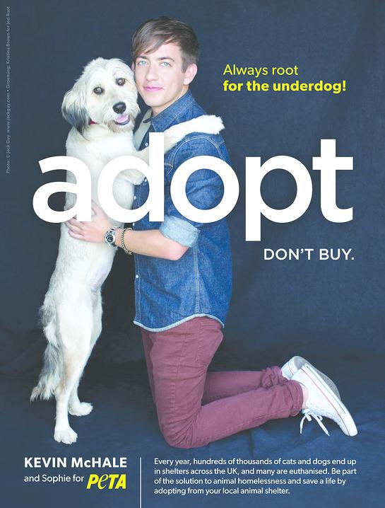 Kevin McHale's PETA Ad